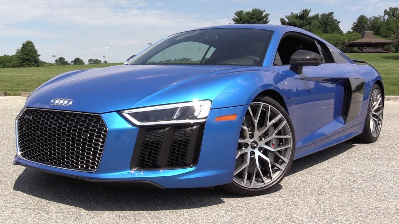 2017 audi r8 v10 plus start up road test in depth review youtube. Black Bedroom Furniture Sets. Home Design Ideas