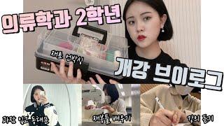 의류학과 2학년 대학생 개강 브이로그! /동대문 시장 …