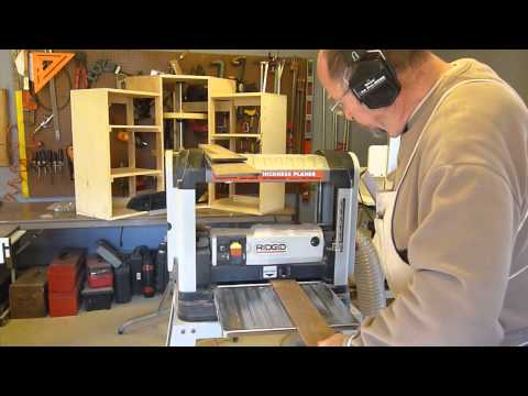 Final plane for cabinet door panels by Hal the Woodmeister