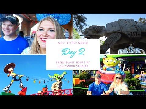 Walt Disney World | Oct. '18 | Day 2 Extra Magic Hours ✨ at Hollywood Studios 👽🚀🔫