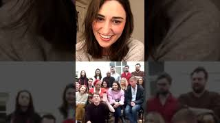 Sara Bareilles Goes LIVE With The Cast Of Waitress London