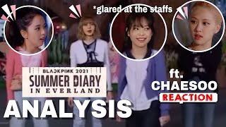JENNIE being the BRAVEST in the Everland! ❤️🙈 #JENLISA #ANALYSIS