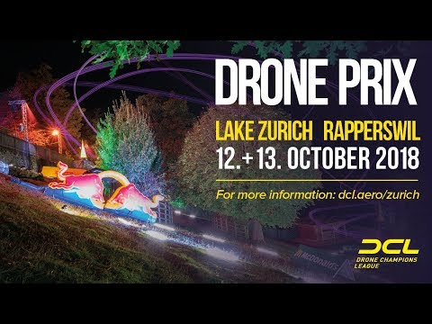 DCL SEASON GRAND FINALE 2018 - Drone Champions League DRONE PRIX LAKE ZURICH