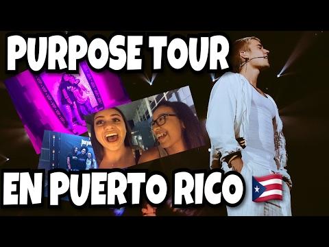 JUSTIN CANTA DESPACITO POR PRIMERA VEZ EN VIVO (Purpose Tour PR) | Alondra Michelle