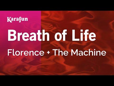 Karaoke Breath of Life  Florence + The Machine *