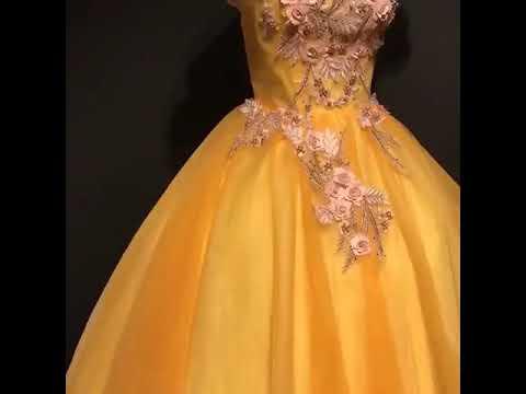 flower-fairy-yellow-prom-dresses-2019