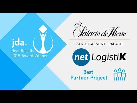 JDA Software Real Results 2015 Winner   El Palacio de Hierro & netLogistiK