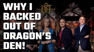 🐉 Why I chose NOT to audition for Dragon's Den (Canadian 🦈 Shark Tank)