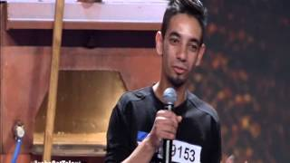 ARABS Got Talent 2015 - verry funny one but THE algerienne in Pizza free style