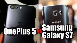 Сравнение OnePlus 5 против Samsung Galaxy S7 - камера, экран, звук, производительность
