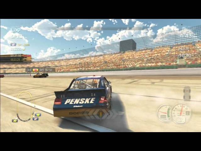 NASCAR The Game 2011 - Kurt Busch @ Kansas