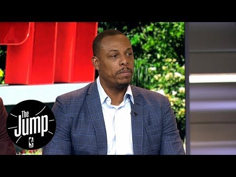 Paul Pierce Comments On Retiring A Celtic | The Jump | ESPN