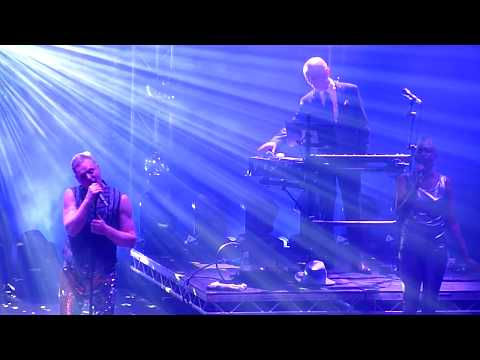 Erasure - Oh L'Amour - Roundhouse, London - May 2017: Erasure performing Oh L'Amour live at the Roundhouse, London on 29th May 2017.