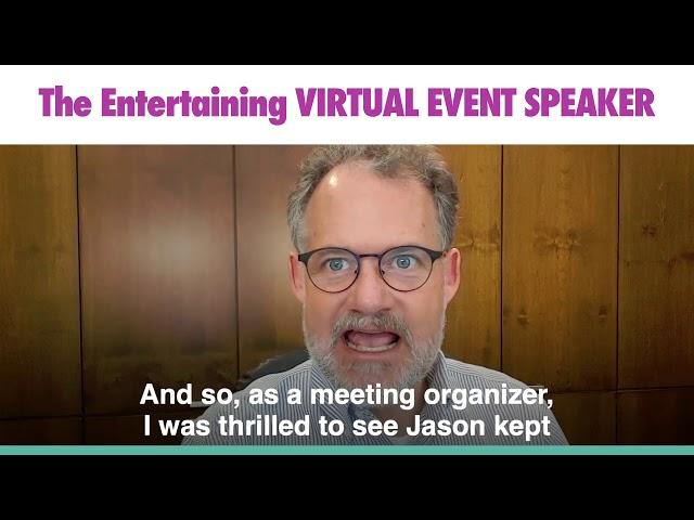 Devin Thorpe Testimonial of Jason Hewlett Virtual Event Speaker