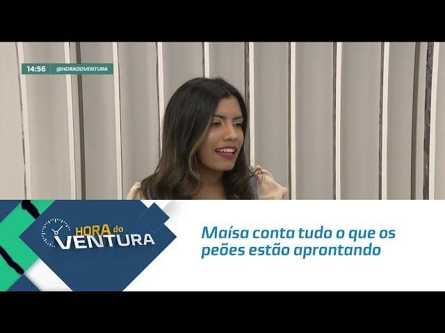 """Maísa conta tudo o que os peões estão aprontando em """"A Fazenda 11"""" - Bloco 02"""