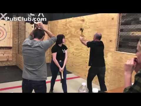 LA AX Axe Throwing Club In Los Angeles