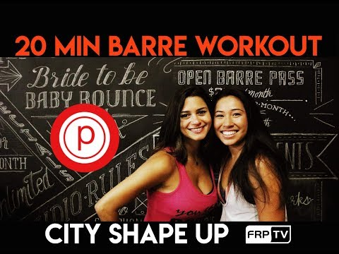 20 minute BARRE WORKOUT and Fit News Interview with Rita from Pure Barre | CITY SHAPE UP