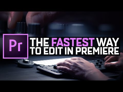 The FASTEST Way To Edit In Premiere Pro | LOUPEDECK+