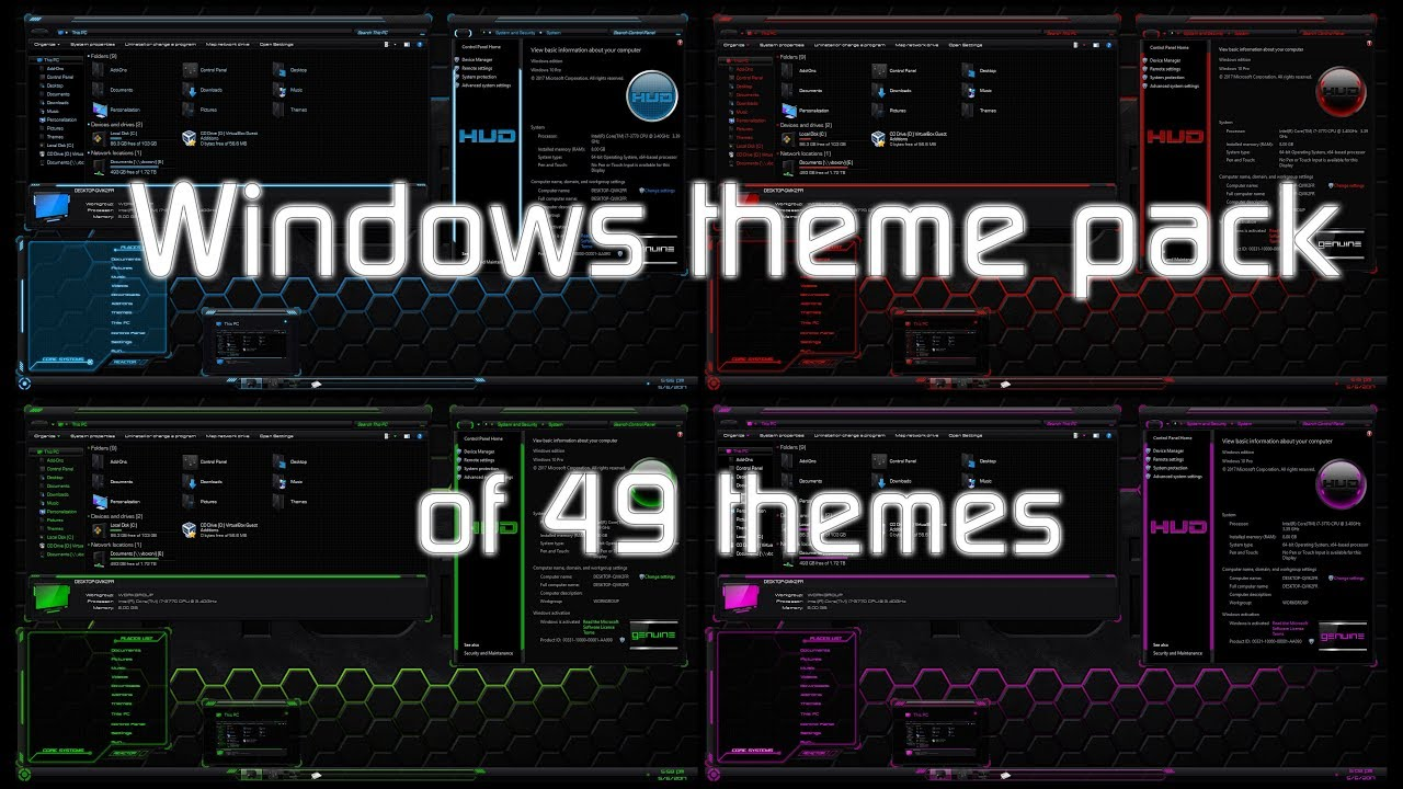 Windows 10 Wallpaper Pack: Windows 10 Theme Pack Collection