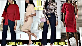 10 Outfit Ideas | WINTER HOLIDAY LOOKBOOK