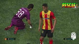 PS4 PES 2019 Gameplay Esperance de Tunis vs Raja Casablanca (Issam Chawali)  [HD]