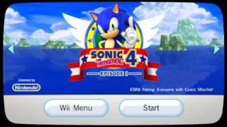 Sonic the Hedgehog 4 - Episode 1 (WiiWare Version)