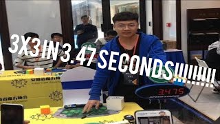 All WCA Rubik 39 s Cube World Records End Of 2018 Singles
