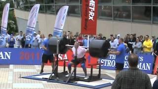 2011 World's Strongest Man- Squat Lift- Josh Thigpen