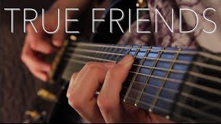 Bring Me The Horizon - True Friends Guitar Cover (Full Instrumental) PLUS LESSON!!
