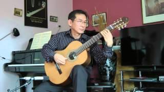 ASTURIAS (Leyenda) - Albeniz - Guitar: DANG THAO