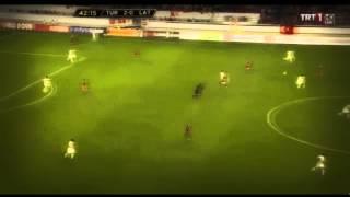 Selçuk inan müthiş hareket  Türkiye-Letonya maçı (Maestro)