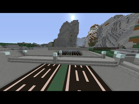 MineCraft LIVE at Sim Architect's World! Extending the West Highway a bit longer...
