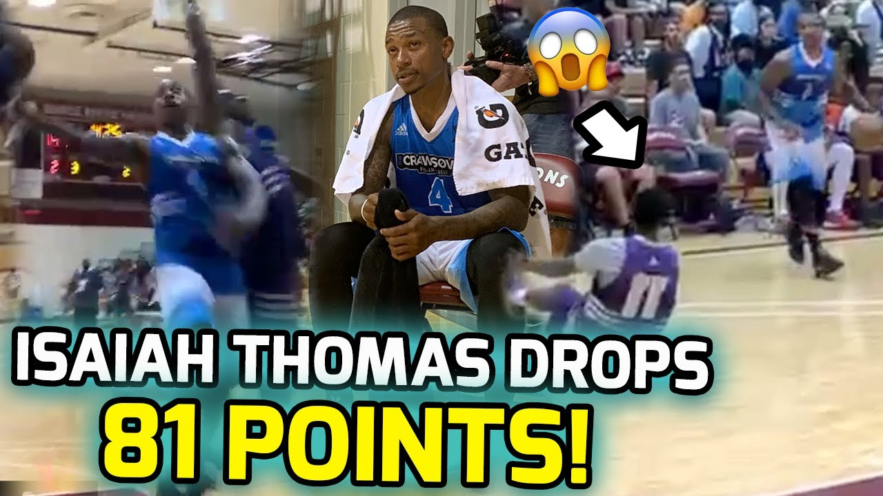 Isaiah Thomas Scored 81 Points At Jamal Crawford's The ...
