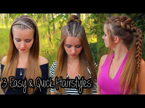 3-easy-&-quick-hairstyles-for-back-to-school-|-easy-hairstyles-for-school-|-how-to-braid-own-hair