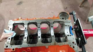 How to  Build big block 496 Chevy  Part 1