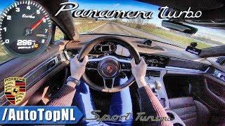 PORSCHE PANAMERA TURBO Sport Turismo - AUTOBAHN POV - by AutoTopNL