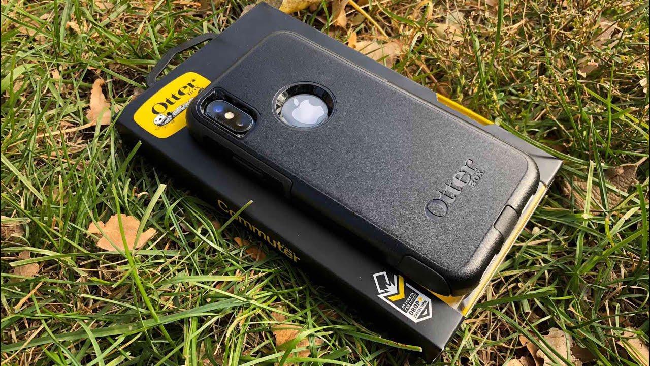 competitive price b5ffd ba7c3 iPhone X OtterBox Commuter Case