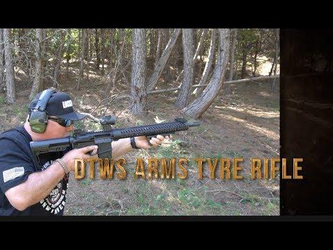 21st Century AR15 ; DTWS Arms Tyre Rifle Range Test