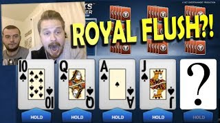 Video Poker - Can we hit the Royal Straight Flush!?