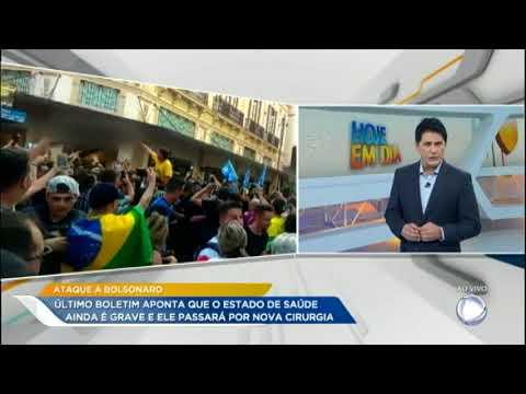 Bolsonaro continua em estado grave e terá de passar por nova cirurgia