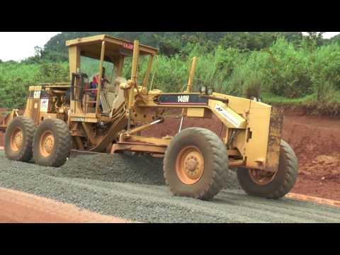 Les travaux d'amenagements et de bitumage de la route nationale N° 15 - NGOZI - GITEGA