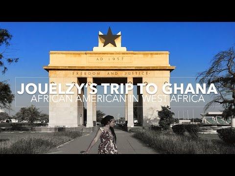 African American in Ghana | 7 Weeks in West Africa |  Jouelzy