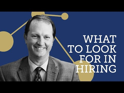 What to Look for in Hiring: Performance vs Skills - David Hutchinson