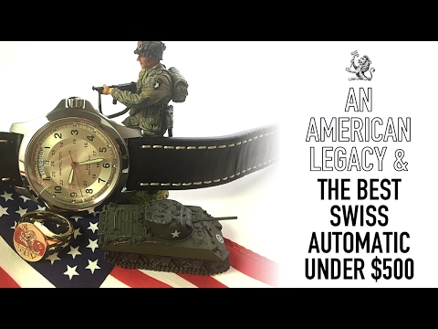 The Hamilton Khaki King Review - One Of The Best Swiss Automatic & Iconic Field Watches Under $500