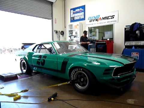 Mustang Boss 1969 >> 1970 Trans Am Mustang Dyno Pull - YouTube