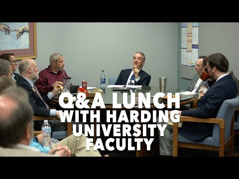 Q&A Lunch With Harding University Faculty | Searcy, AR - February 2018
