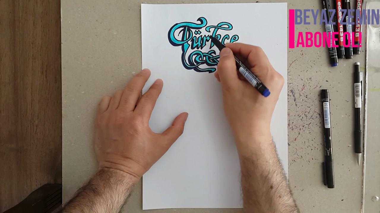 Türkçe Proje ödevi Kapağı Youtube