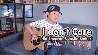 Ed Sheeran & Justin Bieber - I Don't Care ( Fingerstyle Guitar arranged & cover by Sean Song)