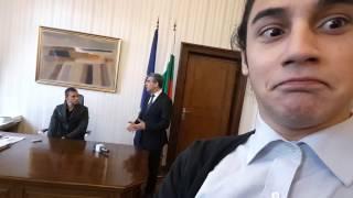 i met the president