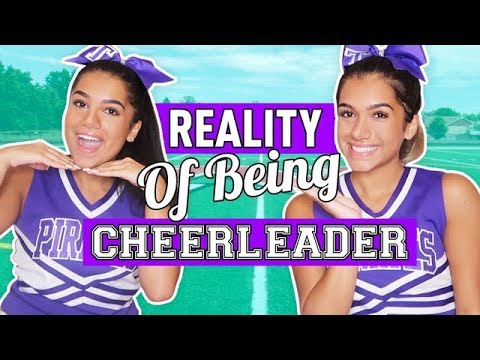 Reality of Being a High School Cheerleader | Mian Twins